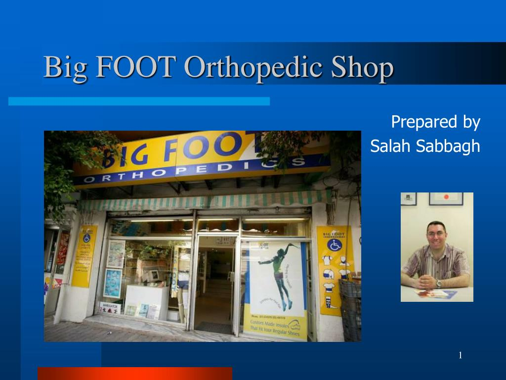big foot orthopedic shop l.