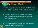 1 the games market