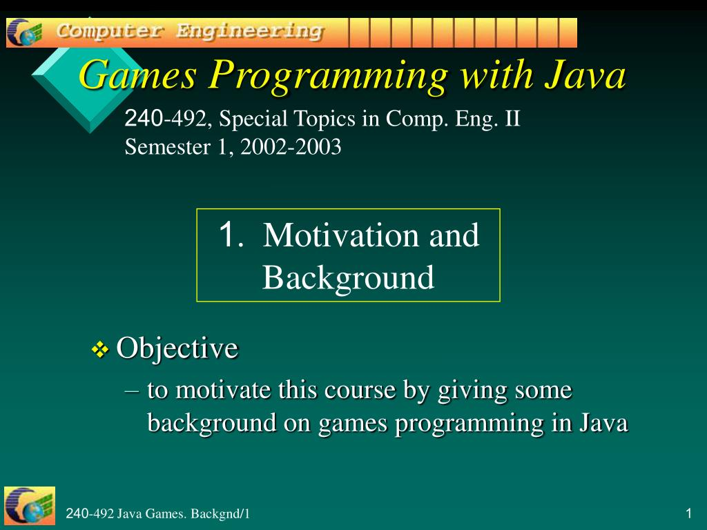 games programming with java l.