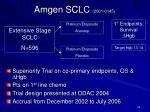 amgen sclc 2001 0145