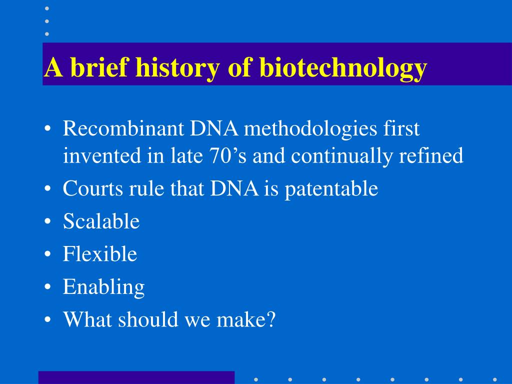 recombinant dna a brief history and What is recombinant dna give a brief history of the development of recombinant dna the recombinant dna technique was first proposed by peter lobban.