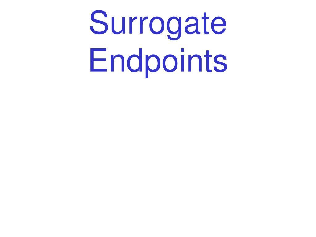 surrogate endpoints l.