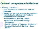 cultural competence initiatives