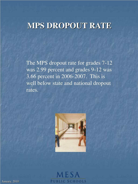 MPS DROPOUT RATE