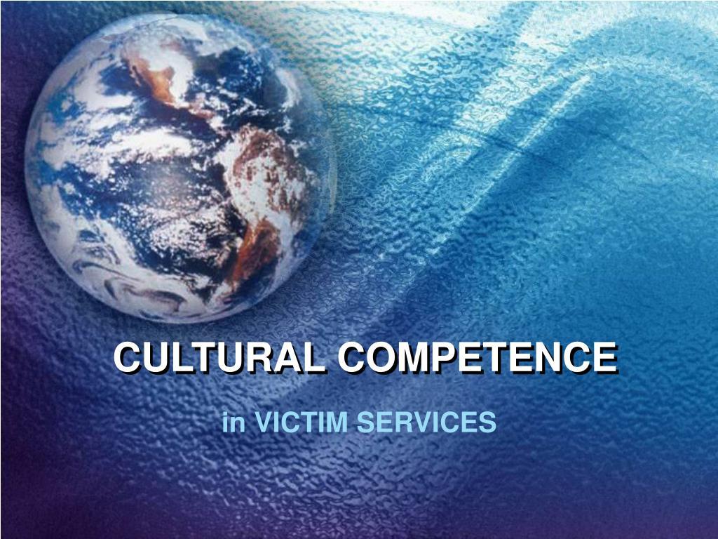cultural competence l.