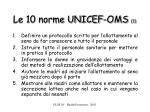 le 10 norme unicef oms 1