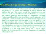 about man group developer mumbai