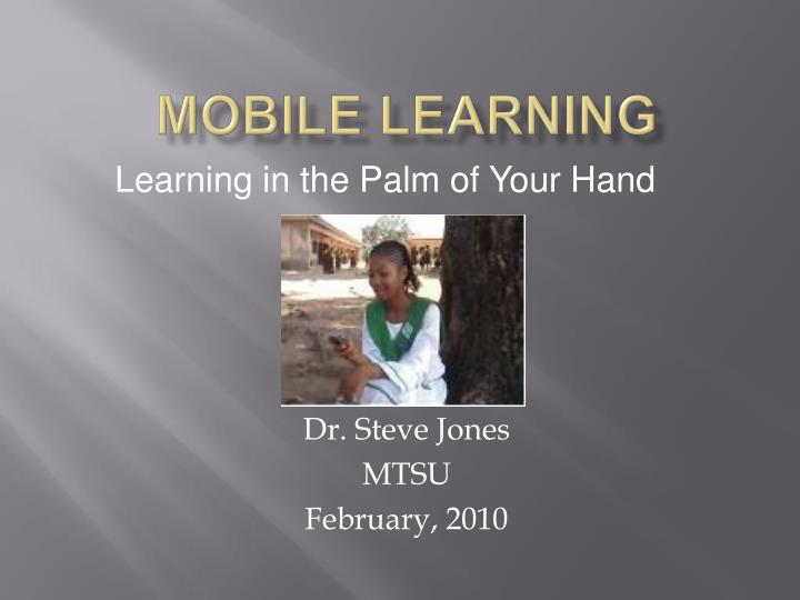 mobile learning n.