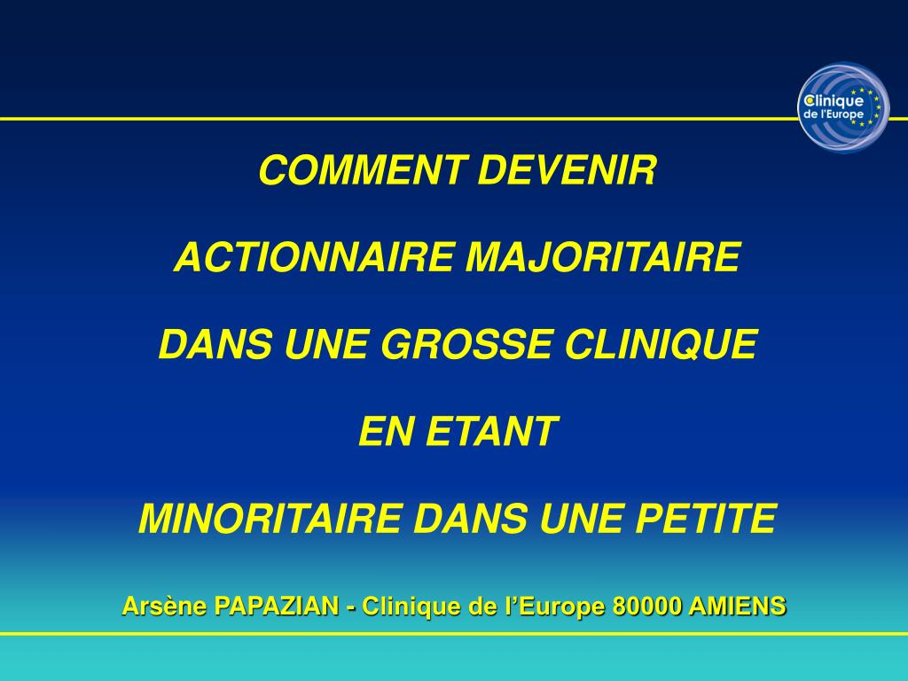 ars ne papazian clinique de l europe 80000 amiens l.