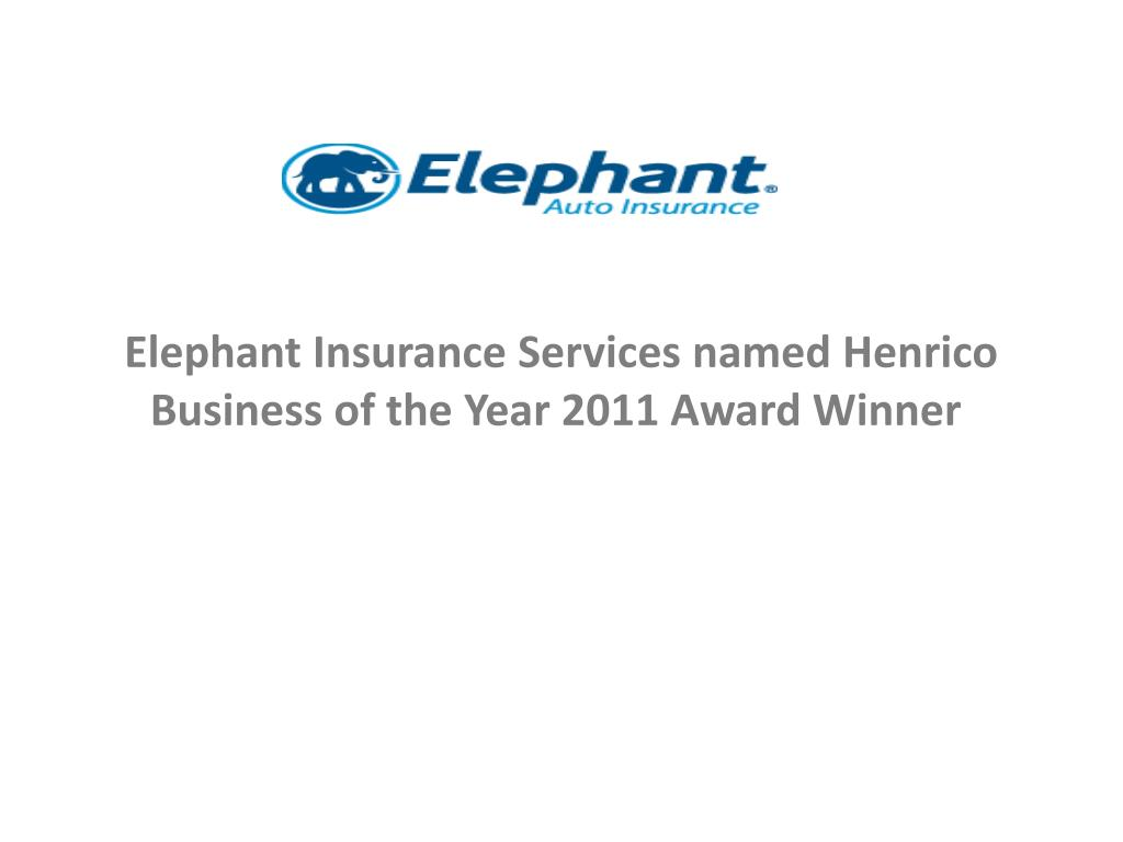 elephant insurance services named henrico business of the year 2011 award winner l.