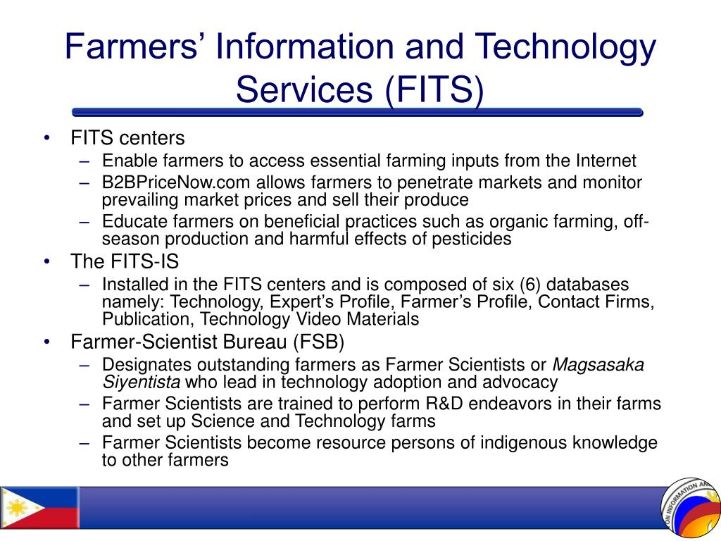 Farmers' Information and Technology Services (FITS)