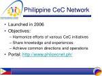 philippine cec network