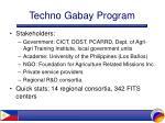 techno gabay program22