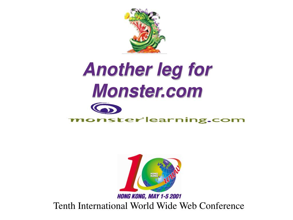 another leg for monster com l.