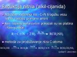 redukcija nitrila alkil cijanida