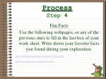 process step 4