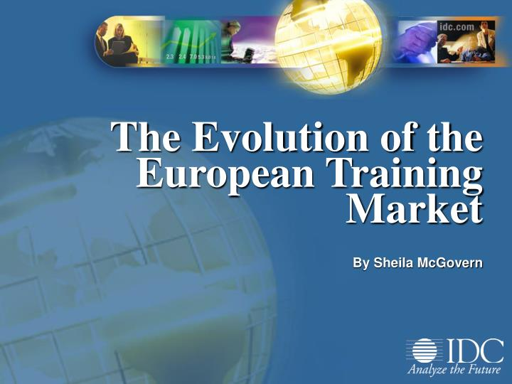 the evolution of the european training market n.