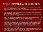 amish romance and weddings