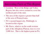 interesting facts of this region17