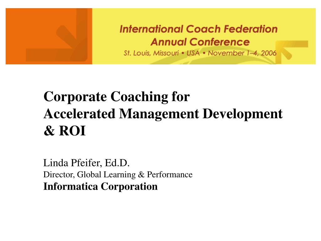 Corporate Coaching for