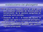 metabolismo del glucogeno82