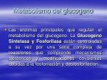metabolismo del glucogeno83