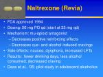 naltrexone revia