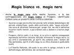 magia bianca vs magia nera