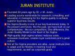 juran institute