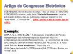 artigo de congresso eletr nico