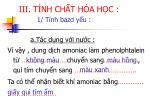iii t nh ch t h a h c 1 t nh baz y u