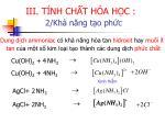 iii t nh ch t h a h c16
