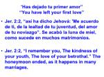 has dejado tu primer amor you have left your first love20