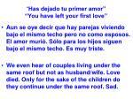 has dejado tu primer amor you have left your first love29