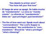 has dejado tu primer amor you have left your first love31