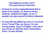 has dejado tu primer amor you have left your first love39