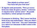 has dejado tu primer amor you have left your first love45