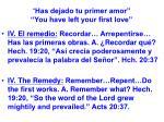 has dejado tu primer amor you have left your first love48