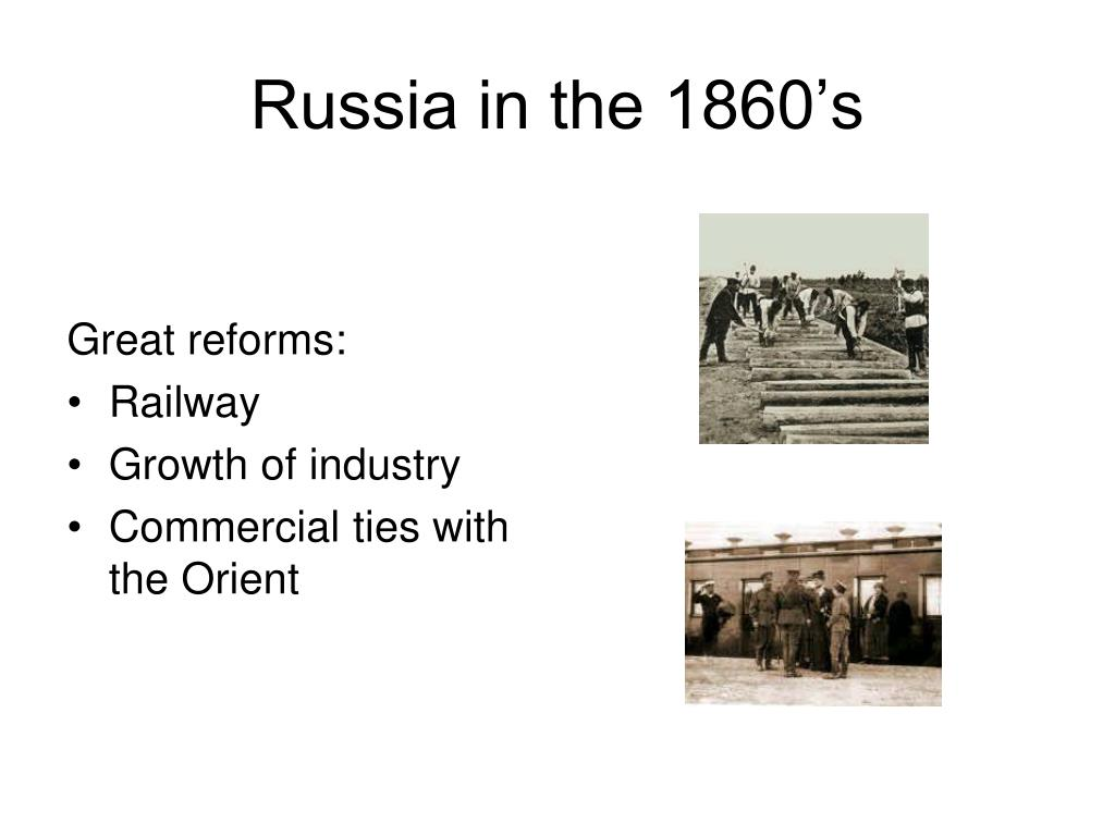 Russia in the 1860's