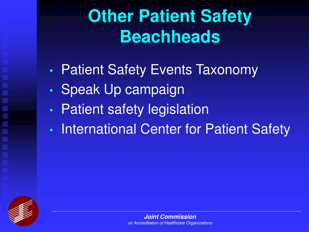 Other Patient Safety Beachheads L