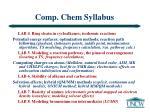 comp chem syllabus29