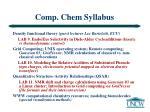 comp chem syllabus30