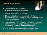 1990s bill clinton