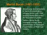 martin bucer 1491 1551