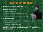 zwingli on baptism