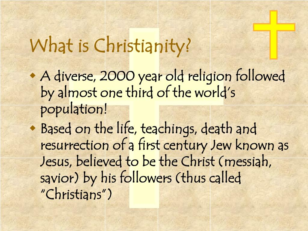 what is christianity l.
