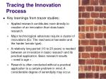 tracing the innovation process