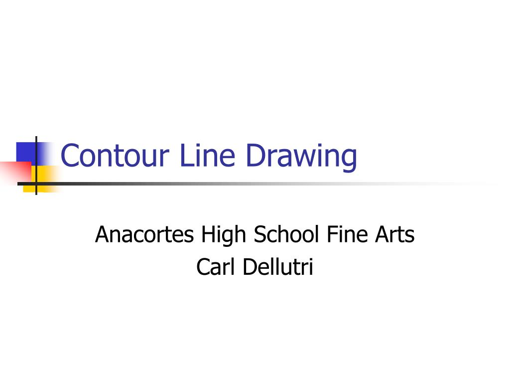 contour line drawing l.
