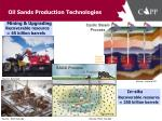 oil sands production technologies