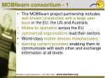 mobilearn consortium 1